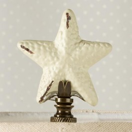 Iron Starfish Finial