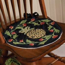 Pineapple Vine Chair Pad
