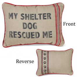 Shelter Dog Pillow