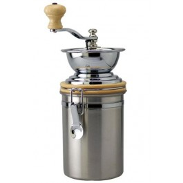Stainless Steel Hand Churn Coffee Grinder
