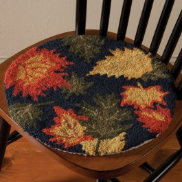 Autumn Leaves Chair Pad
