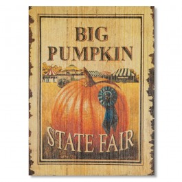 Big Pumpkin Sign