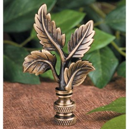 Leaves Lamp Finial