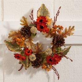 Mini Fall Foliage Wreath