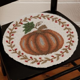 Pumpkin Chair Pad