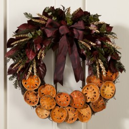 Quince Wreath