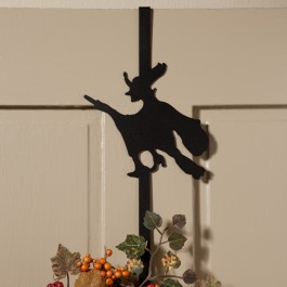 Witch Wreath Holder