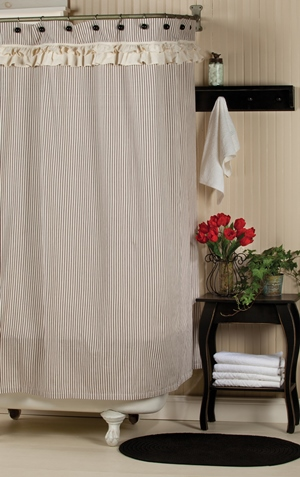 Downton Abbey Shower Curtain