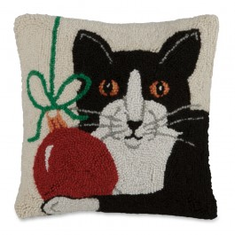 Holiday Pet Pillow Cat