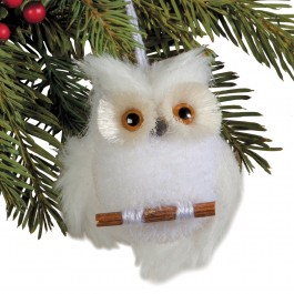 Snowy Owls Hanging Set