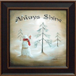 Always Shine Framed Print