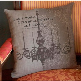 Downton Abbey Woman Pillow