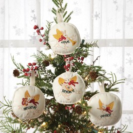 Embroidered Ornaments Set