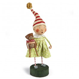 Discovering Santa Lori Mitcell Sculpture Collectible