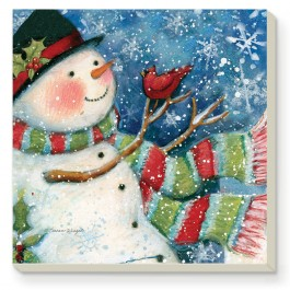 Winter Friends Coaster Set