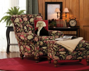 Sturbridge Exclusive Stafford Chair & Ottoman