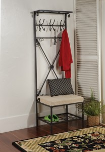 Entryway Storage Rack & Bench