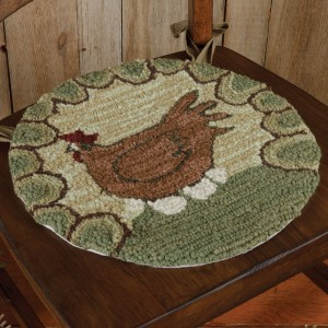 Hen & Eggs Chair Pad