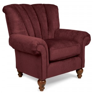 Sturbridge Exclusive Stafford Chair in Burgandy