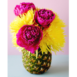 DIY Pineapple Vase