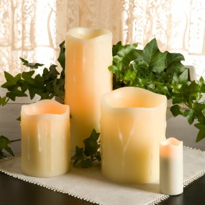 Everlasting Drip Pillar Candles
