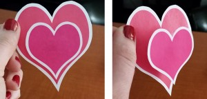 3-D Heart Accents