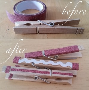 Clothespin Accents
