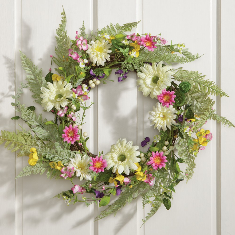 Fern Flower Wreath