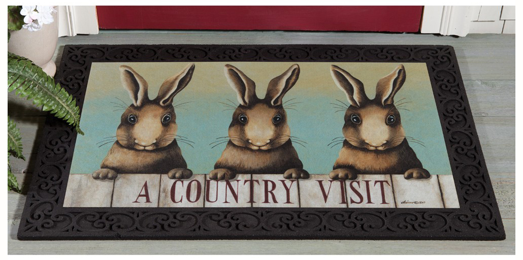 Country Visit Doormat