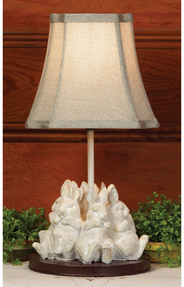 Sleeping Rabbits Lamp