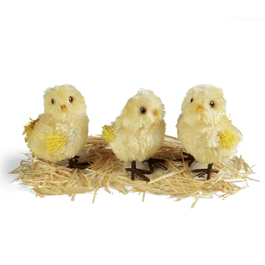 Fuzzy Chicks (set of 3)
