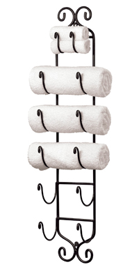 Iron Towel Wall Rack