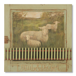 Lamb & Picket Print