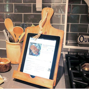 Recipe Book Tablet Holder