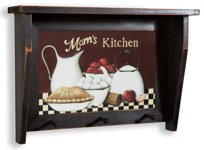 Mom's Kitchen Shelf Rack
