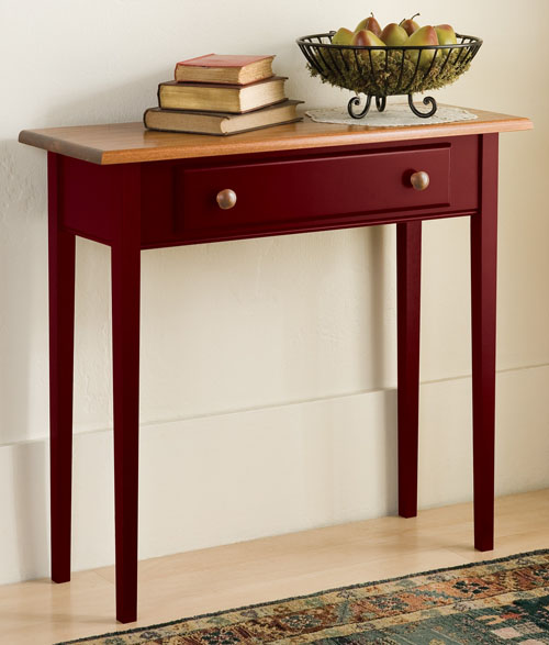 Country Shaker Table (in Cranberry)