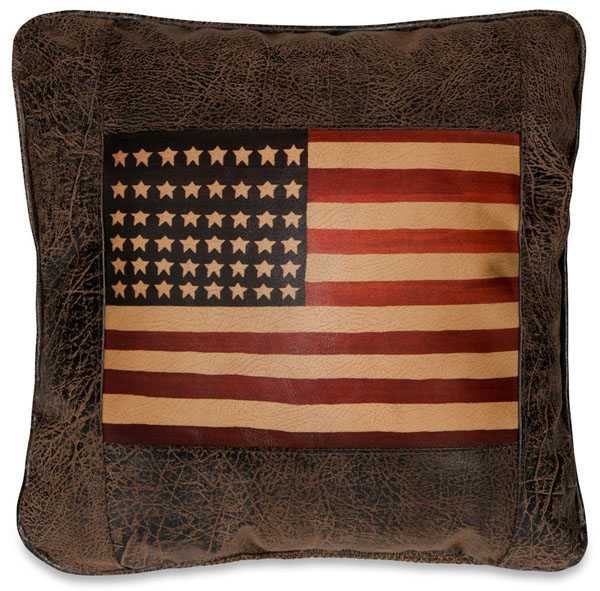 Navaho American Flag Pillow