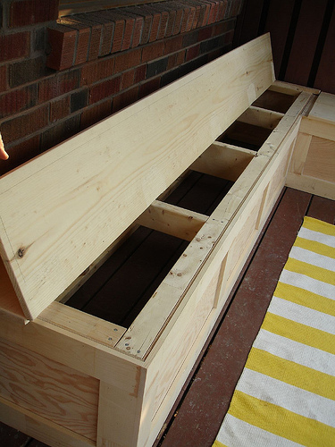 "Rambling Renovators - ""All Decked Out"" Storage Bench"