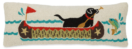 Canoe Dog Pillow