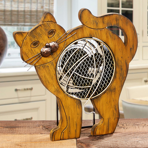 Weu0027ll Start Off With Décor That Is Not Only Ornamental But Functional As  Well. Especially For The Summertime, Our Cat Fan Is The Perfect Kitchen,  Hallway, ...