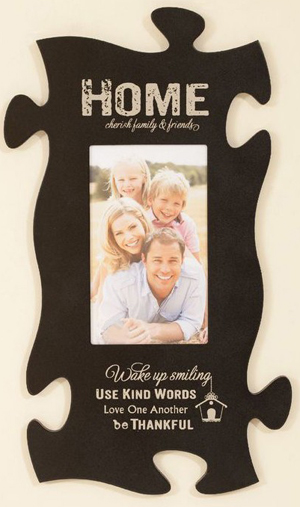 Home Puzzle Piece Frame