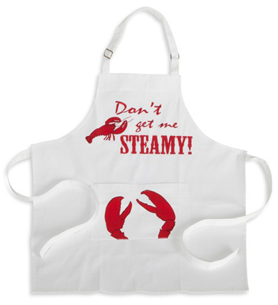 Don't Get Me Steamy Lobster Apron