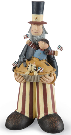 Uncle Sam Sculpture