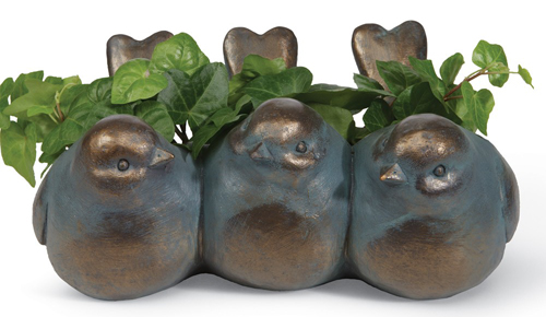 Bird Trio Planter