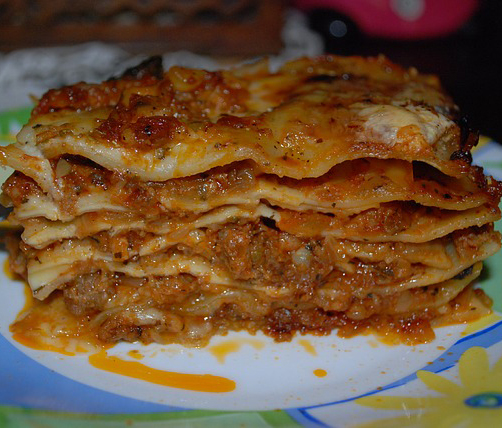 Meat Lover's Lasagna