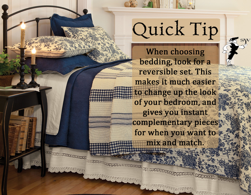 Quick Tip: Versatile Bedding