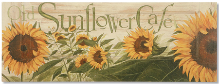 Sunflower Cafe Print