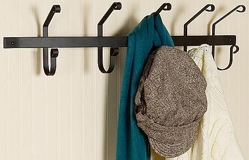 Hook Iron Coat Rack