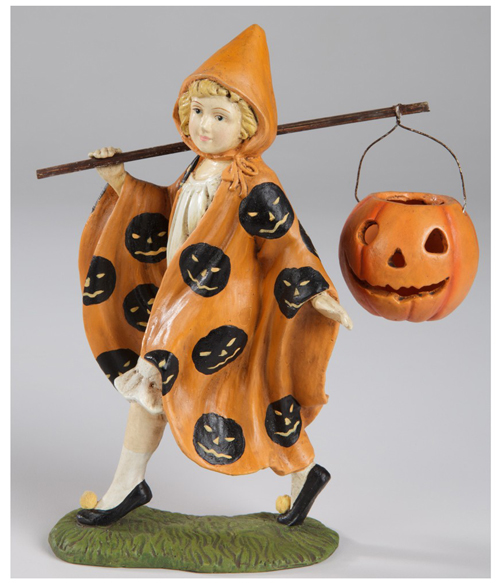 Halloween Parade Girl Sculpture