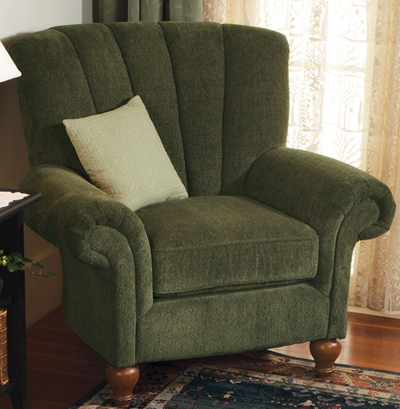 Green Stafford Chair